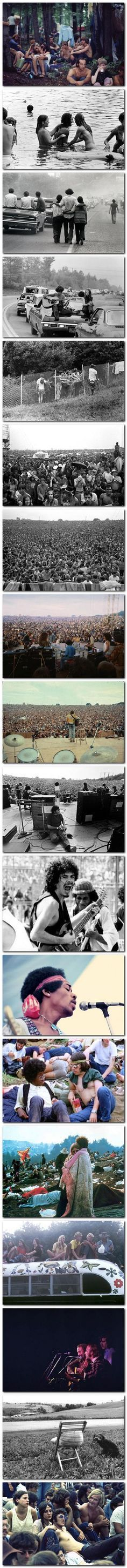 Woodstock 1969; Bob and Larry went