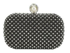 Scarleton Crystal-Encrusted Clutch Bag H3225