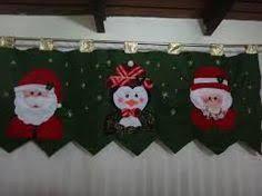 Resultado de imagen para cenefas navideñas con moldes