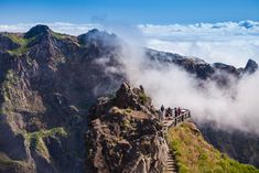 10 Things You Don't Know About Madeira, Portugal - via Clickstay 01.04.2016 | Madeira is without a doubt one of the most beautiful islands in the world... its dramatic, unexplored landscapes and year-round, warm climate makes it an enviable holiday destination in Portugal. Photo: Pico Ruivo Madeira