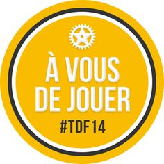 francetv sport @francetvsport Merci à tous de nous avoir suivis & d'avoir joué avec nous sur l'écran compagnon #TDF2014 Vous avez été au top ! #TDF pic.twitter.com/XOJqd6AqOI TRANSLATED FROM FRENCH BY  Thanks to all of us have followed & have played with us on screen companion #TDF2014 you've been to the top! #TDF
