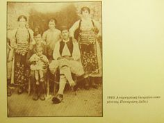 Livanates 1910 Greek Costumes, Greeks, Vintage Photography, Antiques, Board, Painting, Collection, Antiquities, Antique
