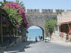 Beautiful Old Rhodes Town - on the seafront !