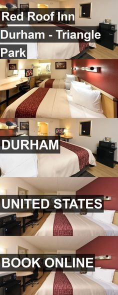 Hotel Red Roof Inn Durham - Triangle Park in Durham, United States. For more information, photos, reviews and best prices please follow the link. #UnitedStates #Durham #travel #vacation #hotel