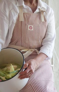 Full coverage chef style apron from Raw Materials Design. http://www.rawmaterialsdesign.com