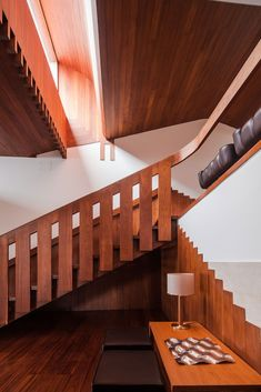Renovation of Boa Nova Tea House, Matosinhos, Portugal by Álvaro Siza Alvar Aalto, Contemporary Architecture, Interior Architecture, Interior Design, Stair Handrail, Railings, Portugal, Roof Light, Cozy Corner