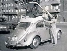 VOLKSWAGEN bagagli spazio deposito VW BEETLE