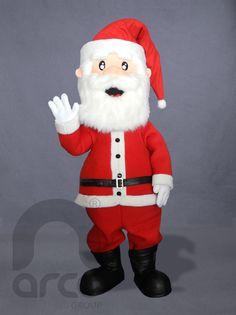Botarga de Santa Claus ¡Conoce más botargas de figuras humanas aquí! http://www.grupoarco.com.mx/venta-de-botargas/botargas-de-figuras-humanas-en-mexico/