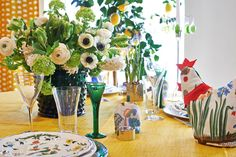 Easter table setting, Svenskt Tenn.