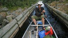 I leid kano dro Siri Gedde-Dahl og mannen på tur med sterke åretak og strie strømmer. Her er beretningen fra kanopadlernes sommer i Femundsmarka.