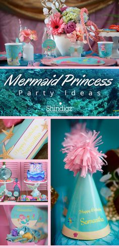 Throw a party worthy of under the sea royalty with our exclusive mermaid princess theme. Get the full details on this royal worthy party on the blog.