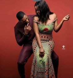 African fashion is available in a wide range of style and design. Whether it is men African fashion or women African fashion, you will notice. Couples African Outfits, Couple Outfits, African Attire, African Wear, African Women, African Dress, Ankara Dress, African Print Fashion, Africa Fashion