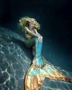 Be Inspired to Live Your Fantasea with Swimmable Mermaid Tails. Be a mermaid, merman, or other beautiful creature of the sea! Custom made silicone mermaid and fabric mermaid tails. Fantasy Creatures, Mythical Creatures, Sea Creatures, Mermaid Fairy, Mermaid Tale, Blue Mermaid Tail, Real Mermaids, Mermaids And Mermen, Mermaids Exist