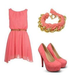 Probably put nude colour shoes with the dress http://www.pinterest.com/ahaishopping/