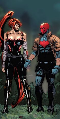 Artemis and Jason Todd (The Red Hood)