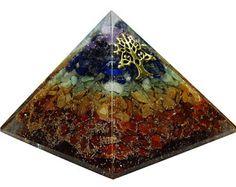 Pirámide de Orgón Multistone Reiki sanación piedra curación