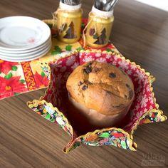 Use as cestas como porta alimentos