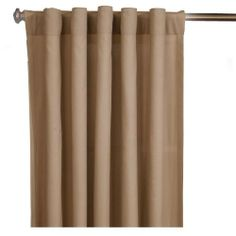 Sure Fit 139761609_COCO Single Panel Cotton Duck Rod Pocket Drape, 56 by 84-Inch, Cocoa by Sure Fit. $19.99. Made of 100-percent cotton (5-ounce per square yard). Measures 84-inch length by 56-inch width. Available in cocoa color. Single panel cotton duck rod pocket drape. Machine wash separately in cold water, gentle cycle; tumble dry low. 100% cotton. Ultra-versatile cotton duck collection creates a clean foundation that complements any decorating style. Cotton Duck drap...