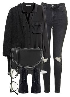 Untitled #6589 by laurenmboot on Polyvore featuring polyvore, fashion, style, H&M, Isabel Marant, Topshop, Zimmermann, STELLA McCARTNEY, Oliver Peoples and clothing