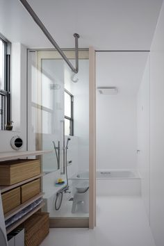 脱衣室 / Yoshihiro Ishiue Architects
