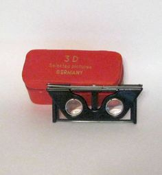 Antique German STEREOSCOPE Christian by AntiqVintageRecycled, $89.99