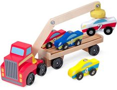 Melissa and Doug Kids' Magnetic Car Loader Toy #Promotion… #PaidAd #ad #affiliatelink