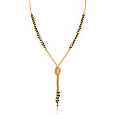A scrumptious mangulsatra design in 22kt yellow gold for the fashionable.