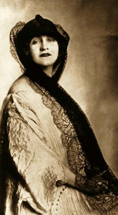 "Portrait of Alma Mahler taken in 1920 by an unknown photographer. Gustav Klimt fell under her youthful charm when she was seventeen: ""Alma is beautiful, intelligent, witty. She possesses everything a man could possibly desire, and that in abundance. I believe she'll be a mistress among women wher..."
