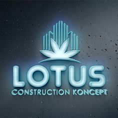 Realizare design Logo 3D Lotus Construction Logo Firma, Lotus Logo, Construction Logo, Card Templates, Flyers, Banners, Business Cards, Logo Design, Spirit