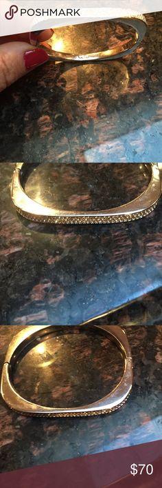 Bracelet from Swarovski store Swarovski bracelet with diamonds  on top. Bought from the Swarovski store. Bangle bracelet. Swarovski Jewelry Bracelets