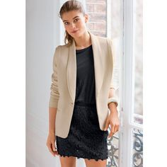 Image Veste LA PETITE FRANCAISE Fashion Mode, Office Fashion, Summer Work Wear, Look Office, Blazer, Collection, How To Wear, Jackets, Clothes