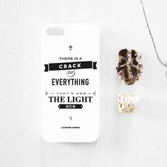 Every Friday we celebrate the weekend with fast sales. This weekend it's time for Cohen iphone case. From 14 euros, only for the weekend 10 euros. Don't forget that this design is available as post. White Iphone, Iphone 4, Iphone Cases, Leonard Cohen, 5s Cases, Typography, Cards Against Humanity, Motto, Don't Forget
