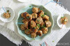 Sausage cheddar balls