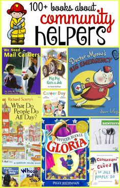 Books about community helpers for toddlers