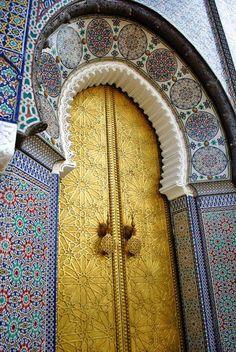 Morocco! Stunning tile work