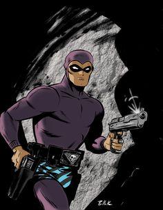 the phantom(ghost who walks) Comic Book Characters, Comic Character, Comic Books, Phantom Comics, Alternative Comics, Classic Cartoons, Comic Page, Indiana Jones, Comic Book Covers