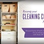 Revamp Your Cleaning Closet – Naturally