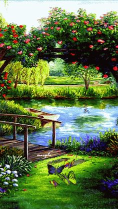 Gardens Discover All your beautiful gifs in one place Beautiful Nature Wallpaper Beautiful Gif Beautiful Artwork Beautiful Landscapes Beautiful Gardens Art Et Nature Image Nature Nature Gif Studio Background Images Beautiful Photos Of Nature, Beautiful Gif, Nature Images, Amazing Nature, Nature Nature, Beautiful Artwork, Beautiful Gardens, Beautiful Landscape Wallpaper, Beautiful Landscapes