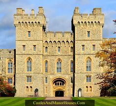 Windsor Castle, Windsor, Berkshire, England...    http://www.castlesandmanorhouses.com/photos.htm  ...    Windsor Castle is a royal residence notable for its long association with the English and later British royal family. The original castle was built in the 11th century after the Norman invasion. Since the time of Henry I, it has been used by succeeding monarchs and is the longest-occupied palace in Europe. More than five hundred people live and work in Windsor Castle.