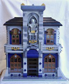 Custom LEGO Modular Castle