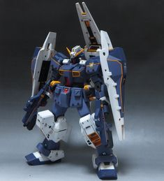 1/144 Gundam TR-1 Hazel [ブラックオター小隊の旗印] Custom Build by yuupink. Photoreview Big or Wallpaper Size Images