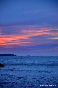 Lo splendido tramonto visto da Punta Licosa Frazione di Castellabate