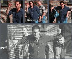 Jon Bernthal, Shane, The Walking Dead ...walk like a zombie http://pinterest.com/yankeelisa/