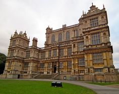 The main entrance to Wollaton Hall, Nottingham, England