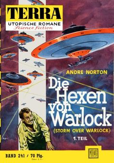 Terra SF 241 Die Hexen von Warlock Teil 1   STORM OVER WARLOCK Andre Norton  Titelbild 1. Auflage:  Karl Stephan