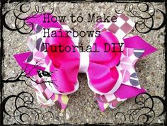 The Johanna Elise Blog: Free Ebook: How to Make Boutique Hair Bows DIY Tutorial. Free Hair Bow Instructions. Pick up your copy here http://johannaelise.blogspot.com/2013/10/free-ebook-how-to-make-boutique-hair.html