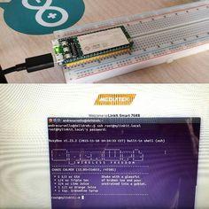É pequeno mas roda #Linux #OpenWRT e ainda é compatível com #Arduino #Yun! #Linkit #Smart 7688 Duo by andrecurvello