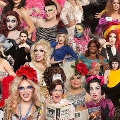 There's only a few more days to catch the #onecityonepride history of drag exhibit at #weholibrary - come by early before tonight's #charlespierce event to see it or over the weekend!! WeHo.org/pride