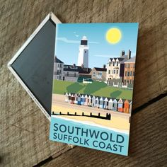 Southwold, Suffolk Magnet  £3.00  My Southwold, Suffolk print is now available as a magnet.  Designed by myself and professionally digitally printed and constructed in the UK. Magnet is packaged in branded packaging making it the perfect gift or treat for yourself! Dimensions: 5.5 x 8 cm