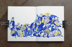 Sketchbook VI by Gosia Herba